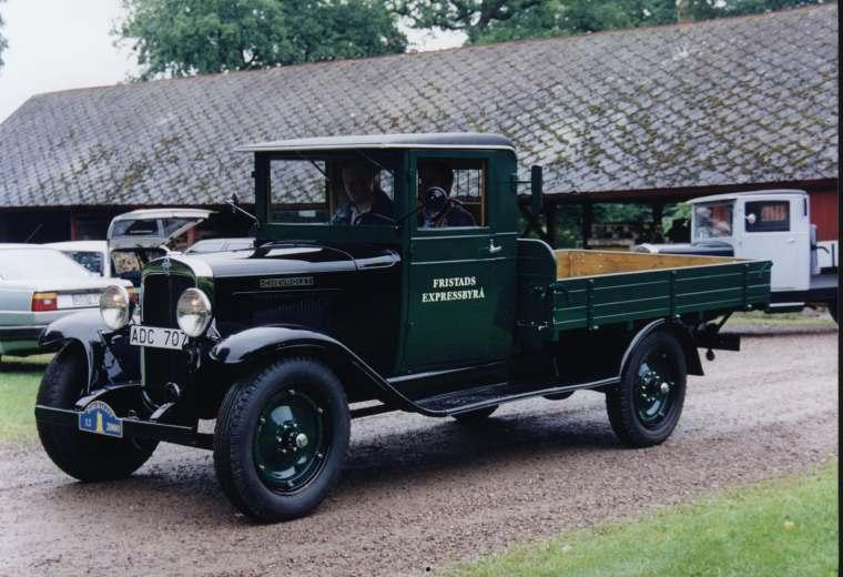 1931 chev truck in sweden